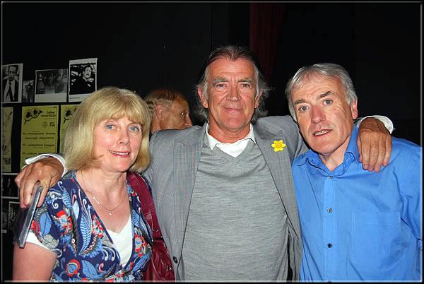 Seán and his Wife Elizabeth with BBC Presenter Gerry Anderson